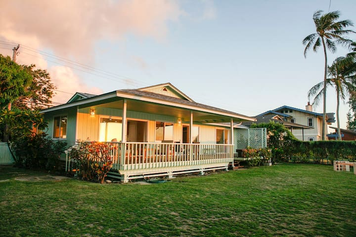 North Shore OCEAN FRONT HOME 30 Day Rentals