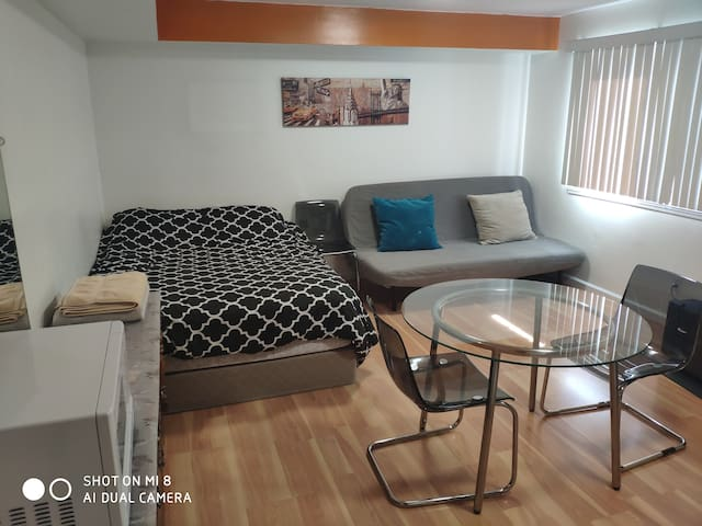 Studio apt direct access to Mantattan and Brooklyn