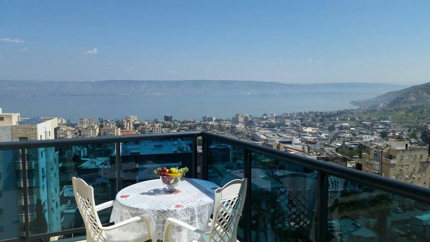 Pearl of the sea of Galilee - טבריה - Apartemen