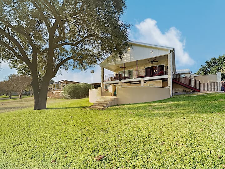 2-Unit Lake Estate with Private Dock & Boat Launch
