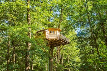 Cabane Secrète pour 2 personnes - Raray - 树屋