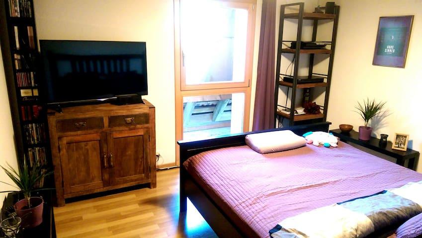 Wohlfühl-Zimmer mit Blick in die Sterne - Radelfingen