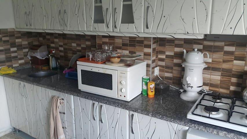 Geniş terası bulunan evimiz - Datça - 아파트