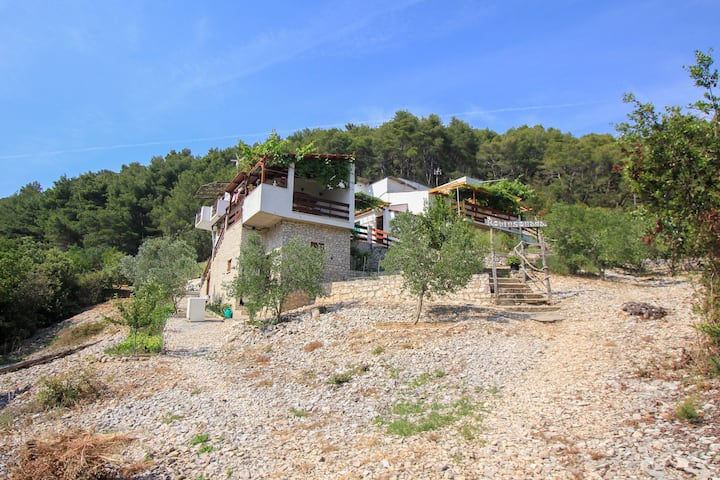 "Secluded holiday home Mirela APP 2+1 ""O"""
