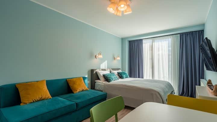 New Gudauri, Red Co Apartment, Loft 1