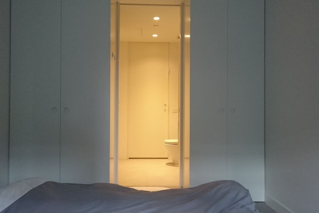 View of Toilet from Double Bedroom  (Toilet is connected between double bedroom & single bedroom)