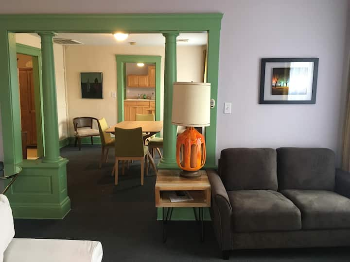 Tremont bistro apartment suite with skyline views