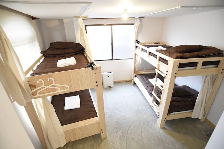 Mix Dormitory Room 男女混合ドミトリールーム