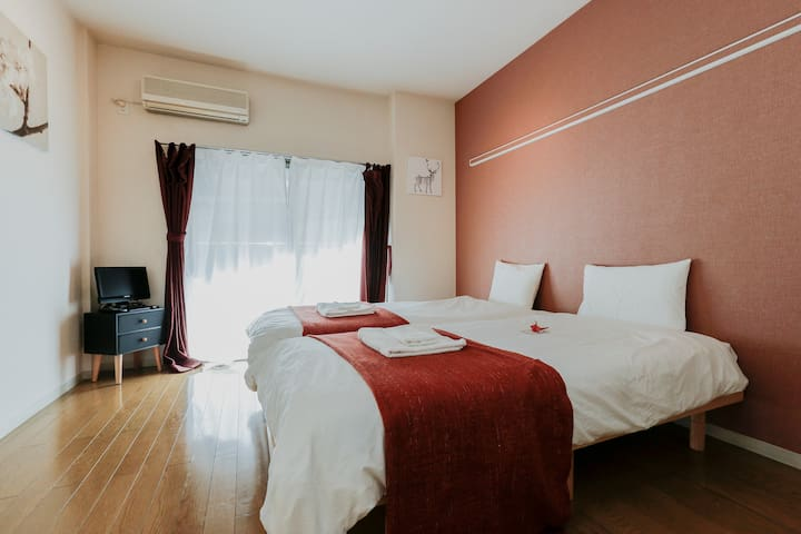 Nishi Nippori Station/3min/Up to 4people/FreeWifi - Arakawa-ku - Appartement