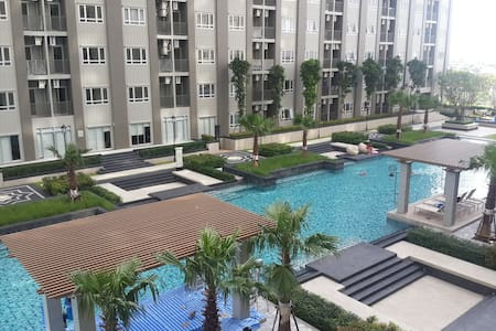New 1 BR beside Chaophaya River&Luxury facilities - Bangkok - Serviced apartment