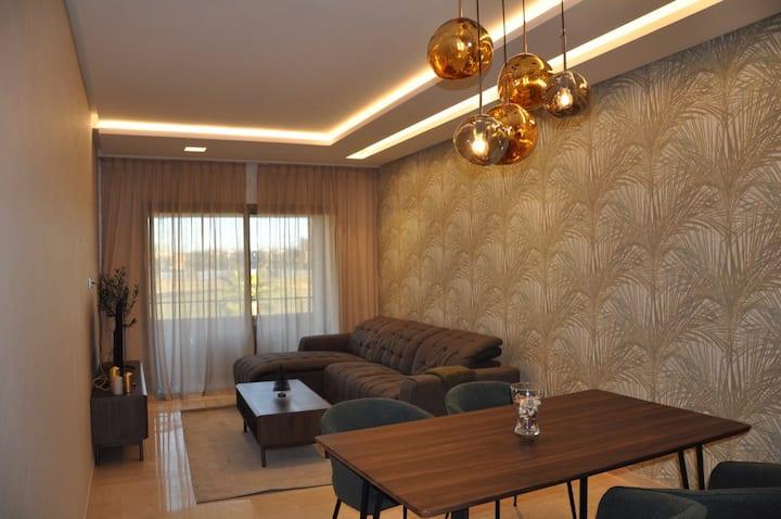 Très bel appartement, neuf , vue sur golf et atlas