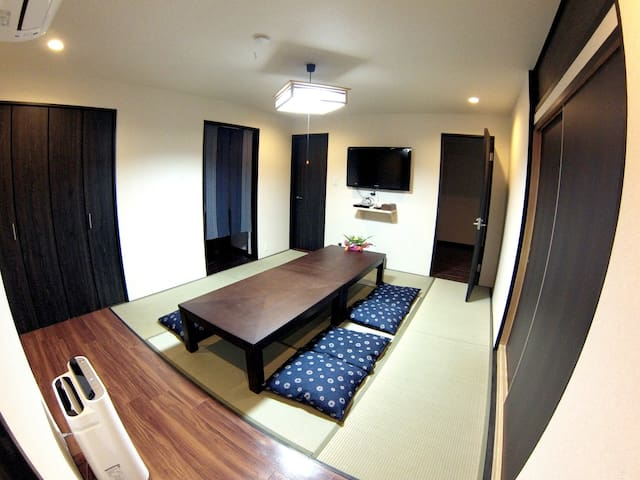 Big GION Garden Family Home for up to 8 guests! - 京都市東山区東大路通松原上ル - Wohnung
