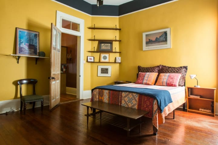 Cute Room in Historic Home located in Hip Treme