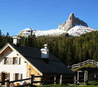 Malga Federa, mountain hut- in the Dolomites heart - Cortina d'Ampezzo