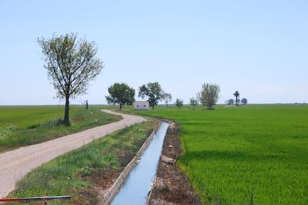 Acogedor piso con piscina en el Delta del Ebro - Deltebre
