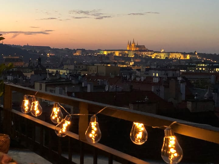 Amazing view apartment in the very heart of Prague