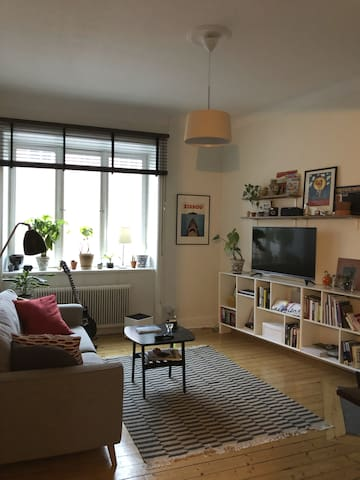 Two room apartment in trendy Södermalm