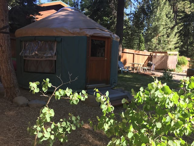 Yurt in Tahoe Vista