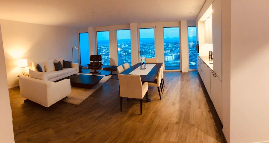 Luxury Appartmemt on 21st floor with amazing view