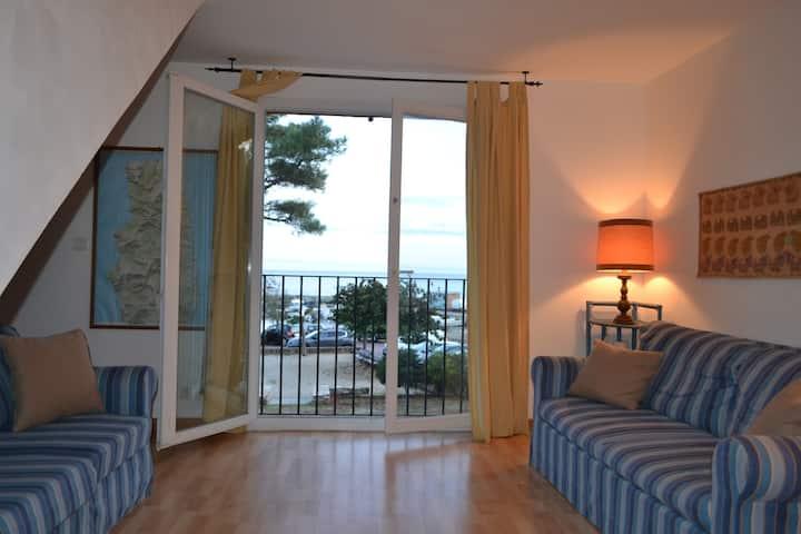 S Severa-Cape Corse: large apartment with sea view