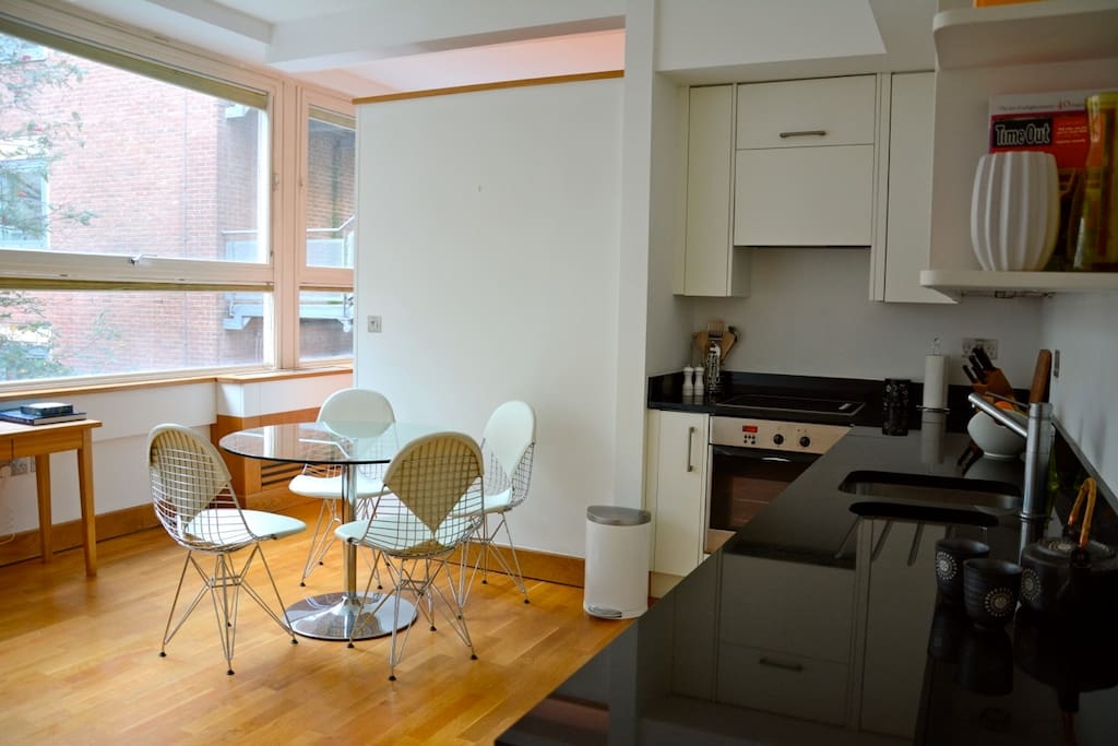 Modern design and features are characteristic of the flat. Show photo list