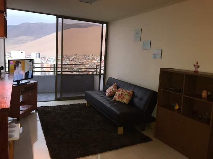 Acogedor Departamento de Hermosa Vista a Iquique.
