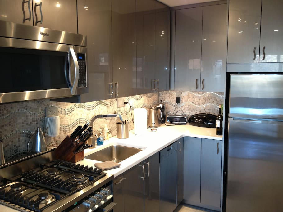 Meile and Fisher Paykel appliances