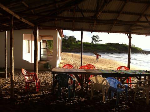 Samso resort, across the road from Hamilton beach.