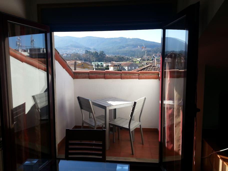 Salon + Terraza