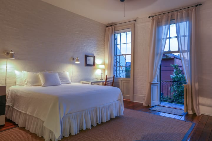 Large Two Room Suite with Private Bath and Balcony