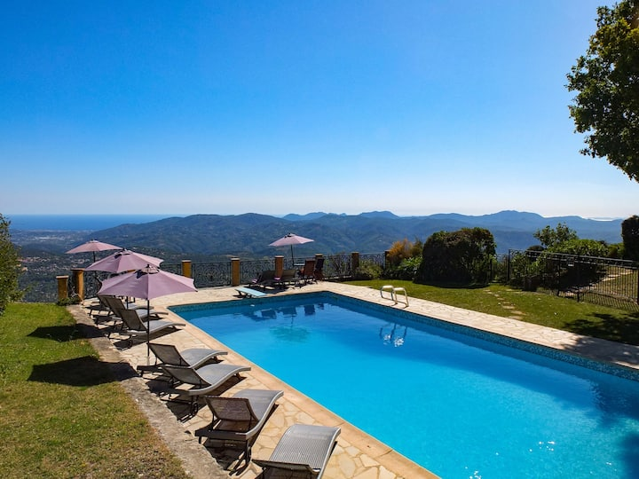 CANNES GARDEN STUDIO 1 DOUBLE BED PANORAMIC VIEW