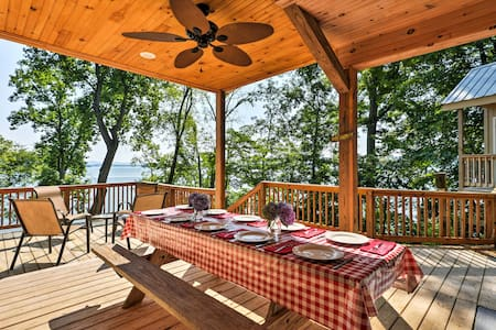 Lakefront Rutledge Cabin w/Fire Pit & Private Dock