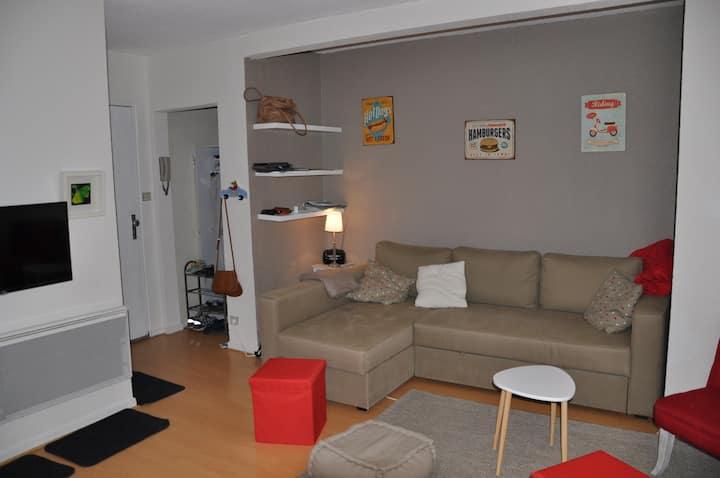 Appartement pied des pistes Ax 3 Domaines
