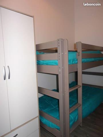 """La chambre """" enfants """" lits superposés"""