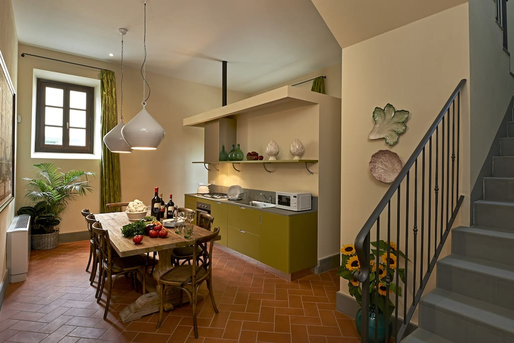 Villa Ferdinando's kitchen