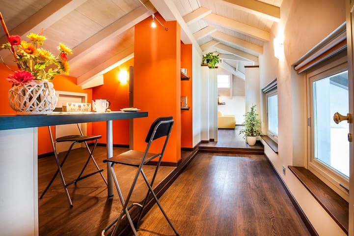 Arc en Ciel, Suite Arancio - Cocconato - Apartment