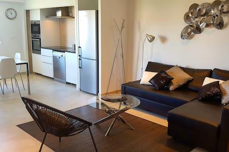 Chic appartement 200m plage Calvi terrasse vue mer