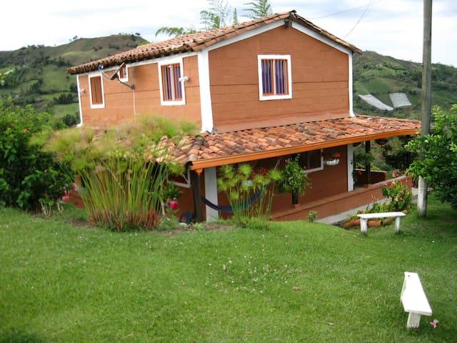 Country Home in El Peñol-Guatape-Medellin area.