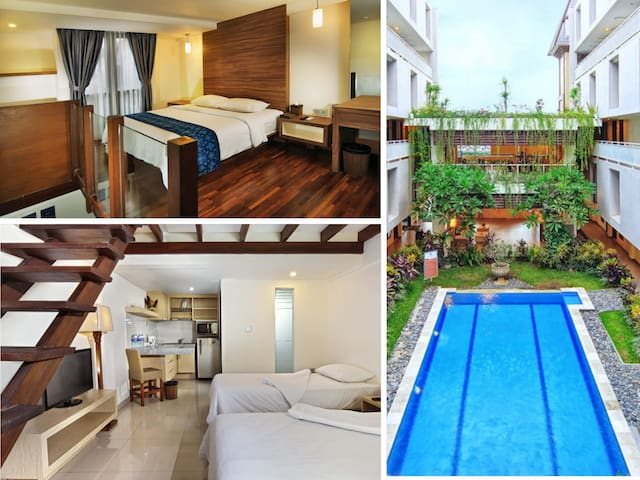 Deluxe Family - Calm&Cozy room with great location - Kuta - Wohnung