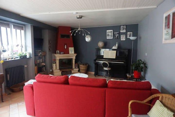Jolie chambre dans maison, plein cœur de Tréguier - Tréguier - Dům
