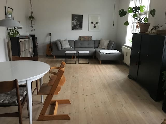 Big and spacious apartment in lively Nordvest - Kopenhagen - Wohnung