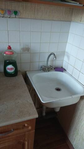 Раковина для посуды и финский Фейри