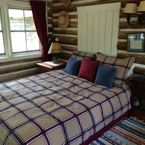 the Authentic log cabin - brownsburg-chatham - Chalet