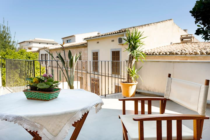 Fantastic Townhouse with Wi-Fi, Air Condition and Balcony with Panoramic View