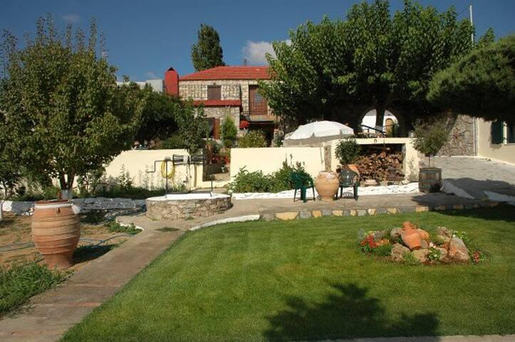 Stone-built Villa, center of Crete - Iraklio - Villa