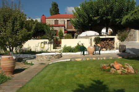 Stone-built Villa, center of Crete - Iraklio - วิลล่า