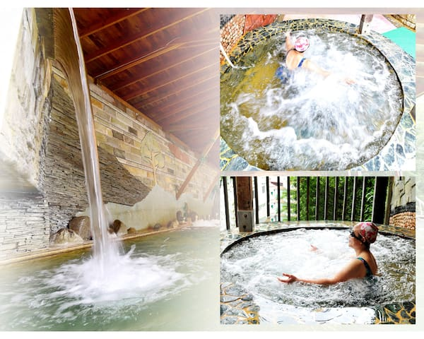 Lusan Hotspring 4-persons room,close to  Cingjing - Ren'ai Township - Alberg