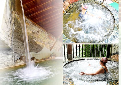 Lusan Hotspring 4-persons room,close to  Cingjing - Ren'ai Township