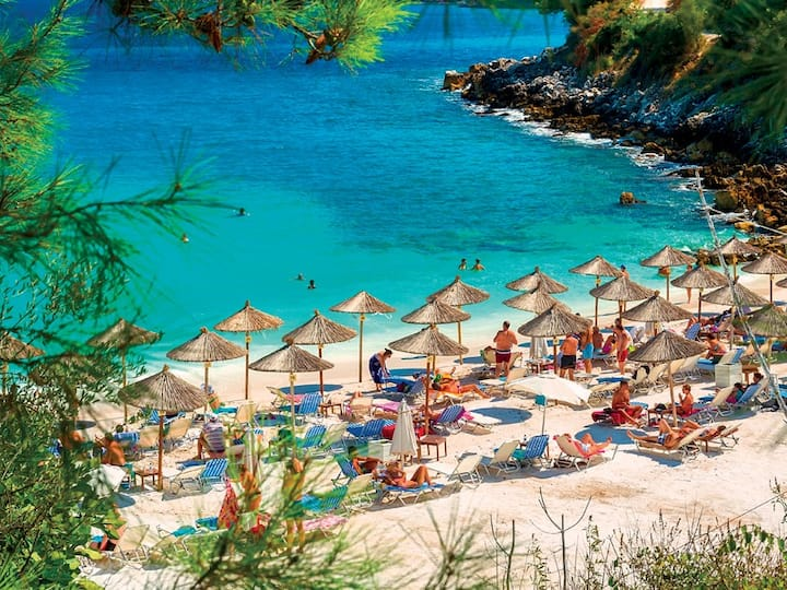 Thasos Deluxe Seaside Retreats in Grecian Sea
