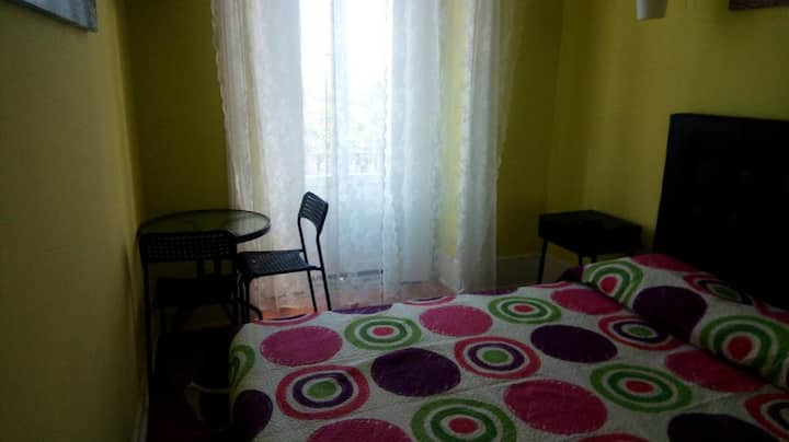 CCH Double Room with Bathroom
